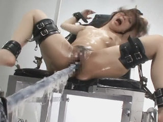 Strapped up Japanese gets fucked with..
