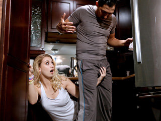 Young blonde girl Sierra Nicole gets..