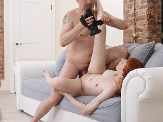 Spontaneous pornography debut