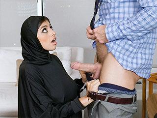 Muslim  Gets the Splooge